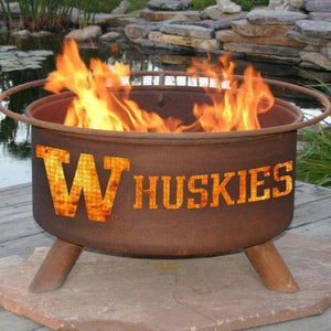 Fire Pit: U of Washington By Patina Products: Accessories Included