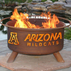 Fire Pit: U of Arizona By Patina Products: Accessories Included