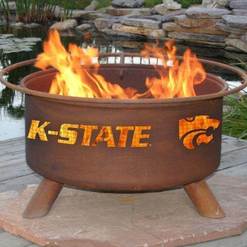 Fire Pit: Kansas State By Patina Products: Accessories Included