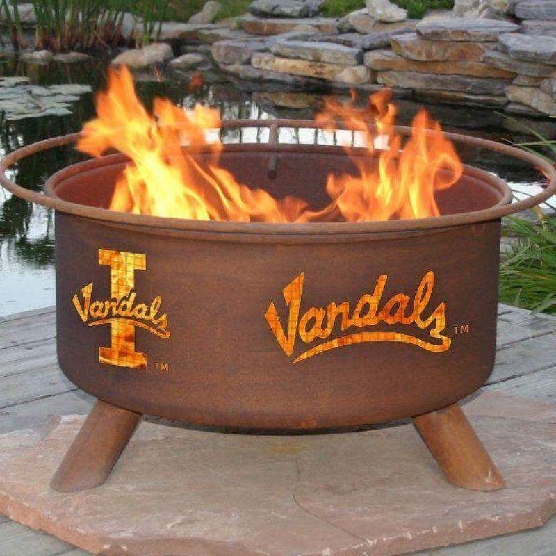 Fire Pit: U of Idaho By Patina Products: Accessories Included