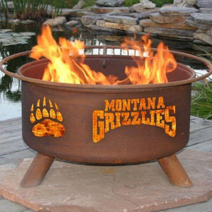 Fire Pit: U of Montana By Patina Products: Accessories Included