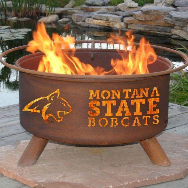 Fire Pit: Montana State By Patina Products: Accessories Included