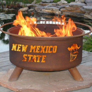 Fire Pit: NMSU By Patina Products: Accessories Included