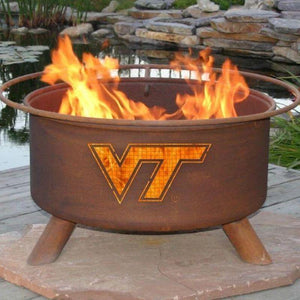Fire Pit: Virginia Tech By Patina Products: Accessories Included