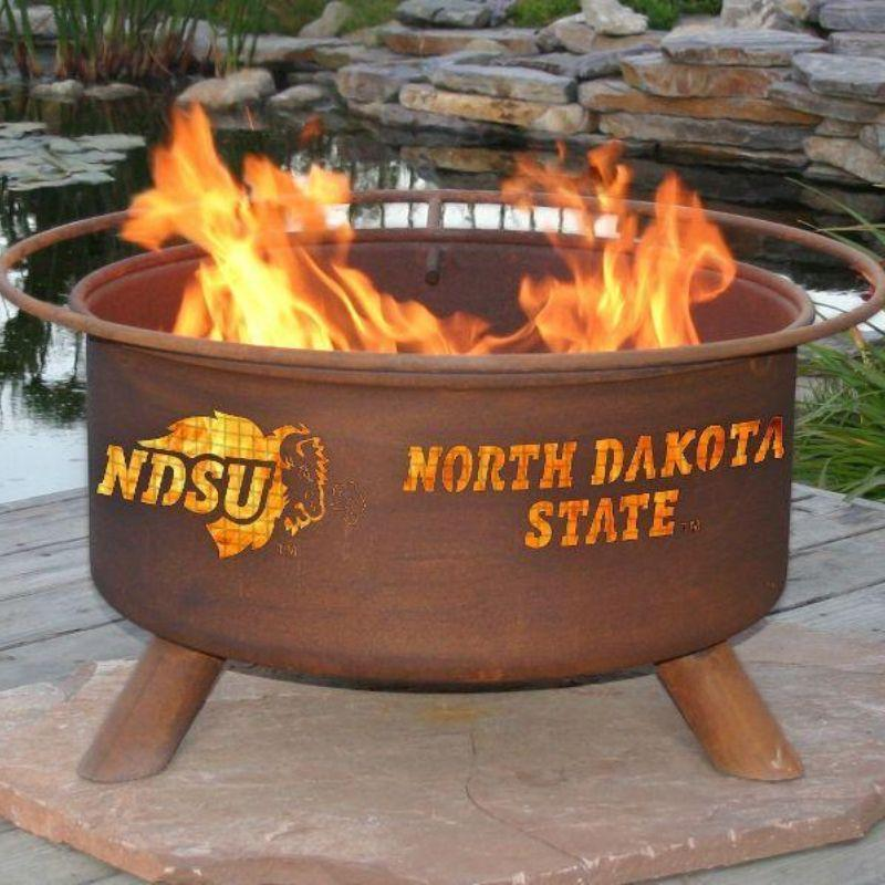 Fire Pit: North Dakota State By Patina Products: Accessories Included