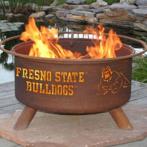 Fire Pit: Fresno State By Patina Products: Accessories Included