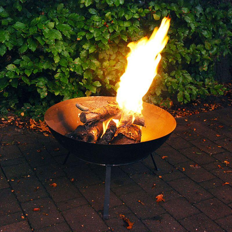 Black Fire Bowl-Esschert Design