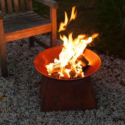 Rust Fire Bowl-Esschert Design