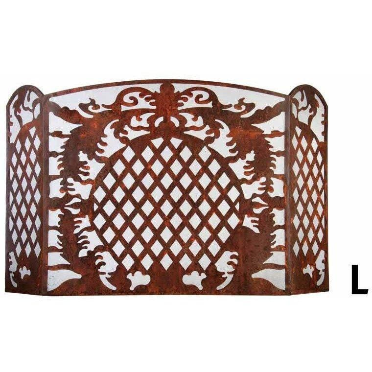 Esschert Design Large French Lily Metal Screen