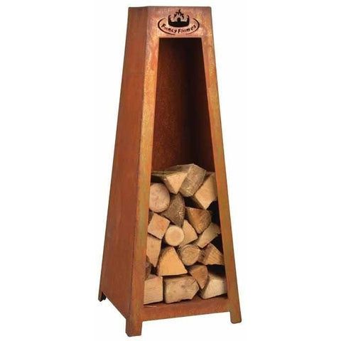 Esschert Design Fancy Flames Wood Storage