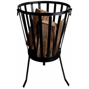 Esschert Design Circular Fire Basket-Powder Coated Metal