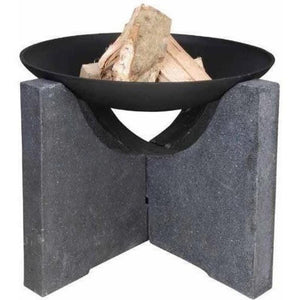 Fire Bowl w/ Tall Granito Stand