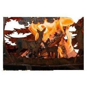 Image of Wildlife Fire Globe Outdoor Heating Esschert Design