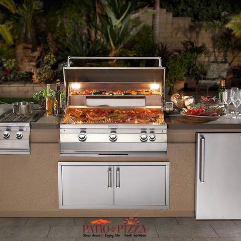 Image of Fire Magic 790 9' Complete Grill Island System - DC790-CBR-108SM