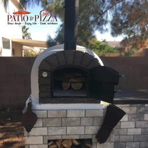 Authentic Pizza Ovens Famosi Brick Wood Fired Oven APOFAM - Patio & Pizza