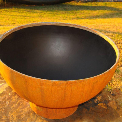 Image of Fire Pit Art - Crater Outdoor Fire Pit