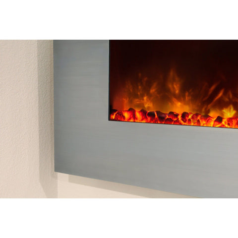 "Image of Electric Fireplace Ambiance CLX 2 80""/100"" Recessed/Wall Mount"