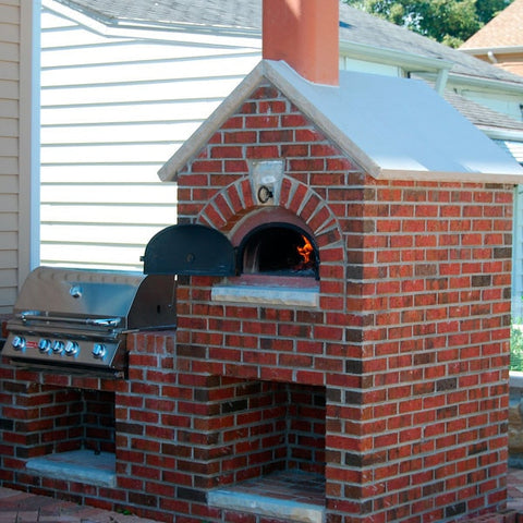 Chicago Brick Oven CBO-500 Wood Burning Pizza Oven Kit - Patio & Pizza - 8