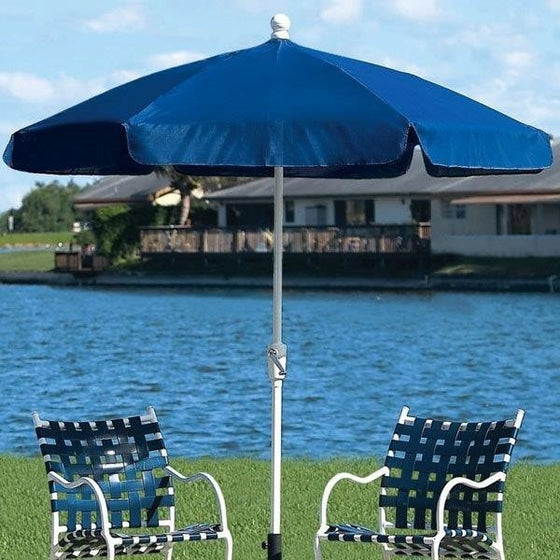 Fiberbuilt Patio Umbrella Home Collection Garden 7.5 Ft - 7GCRW