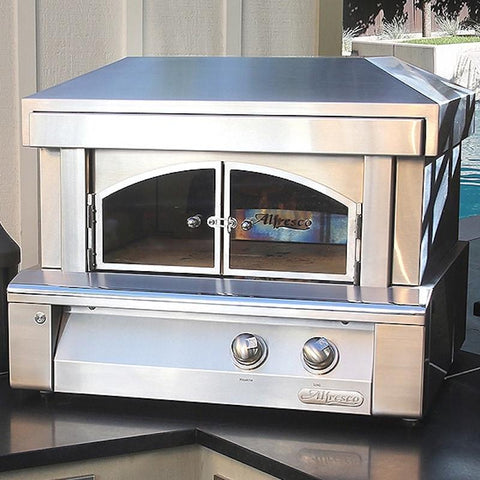 "Alfresco 30"" Countertop/Built-In Gas Pizza Oven LX-LPZA"