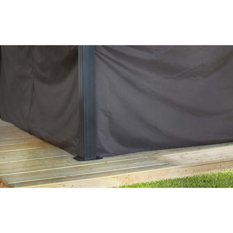 Image of Sojag - Genova Brown Curtains