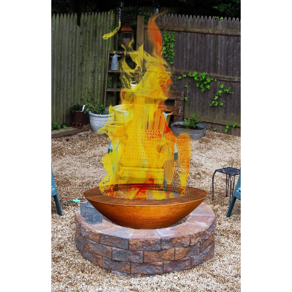 "Fire Pit: 45""OD Legacy by Grand Effects: Outdoor Heating"