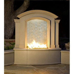 American Fyre Designs Firefalls Outdoor Fireplace