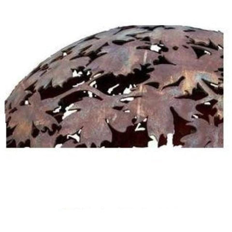 Image of Esschert Design Leafs Fire Globe Outdoor Heating