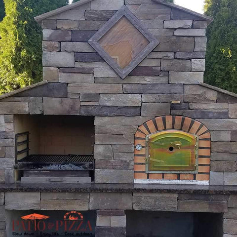 Image of Lisboa Brick Wood Fired Pizza Oven | Patio & Pizza