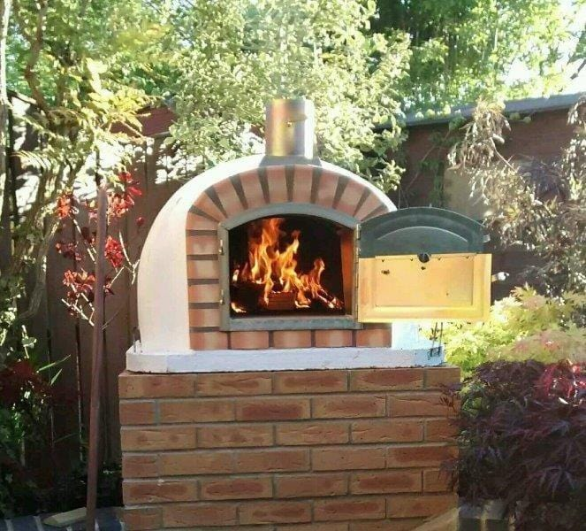 Authentic Pizza Ovens Lisboa Brick Pizza Oven