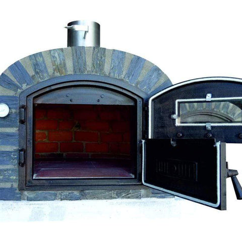 Lisboa Brick Oven with Stone Face Premium