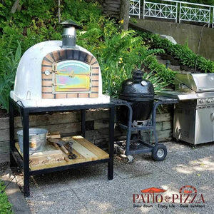 Lisboa Brick Outdoor Pizza Oven by Authentic Pizza Ovens APOLIS - Patio & Pizza