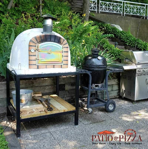 Image of Lisboa Brick Outdoor Pizza Oven by Authentic Pizza Ovens APOLIS - Patio & Pizza