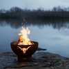 Image of Fire Pit Art- Longhorn