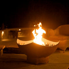 Fire Pit Art- Manta Ray