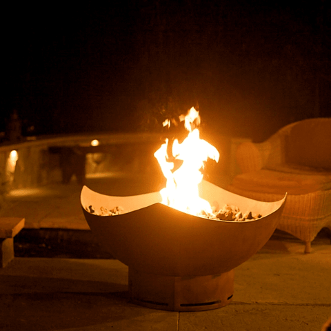 Image of Fire Pit Art- Manta Ray