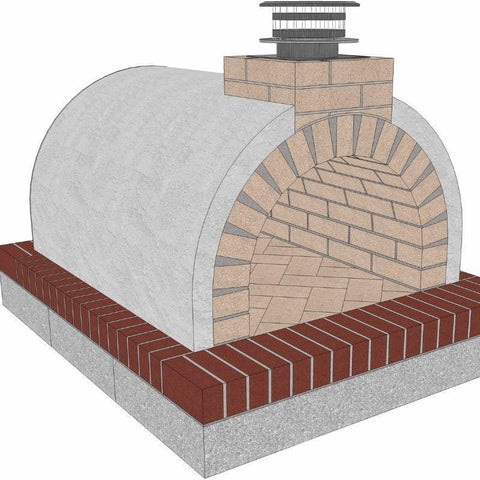 Brickwood Pizza Oven Kit Mattone Barile Package 2