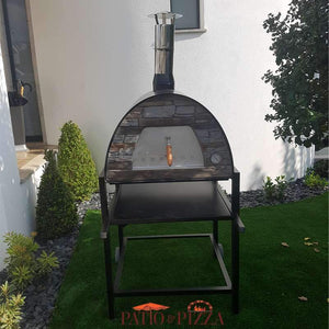 Maximus Pizza Oven on Stand Black