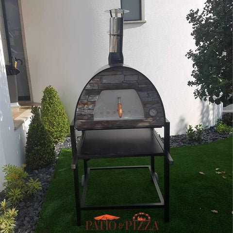 Image of Maximus Pizza Oven on Stand Black