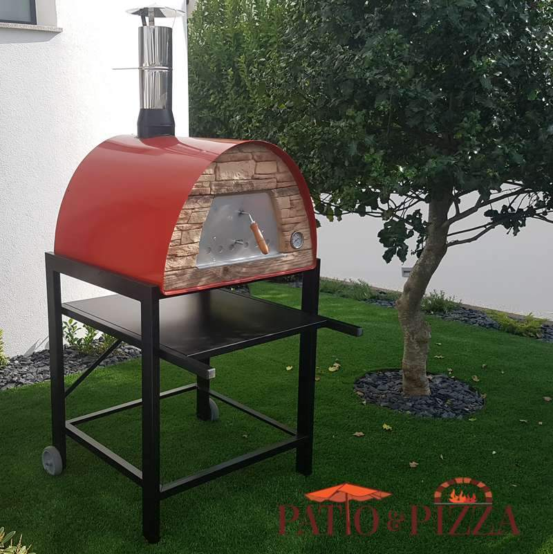 ... Maximus Portable Outdoor Pizza Oven By Authentic Pizza Ovens   Patio U0026  Pizza ...