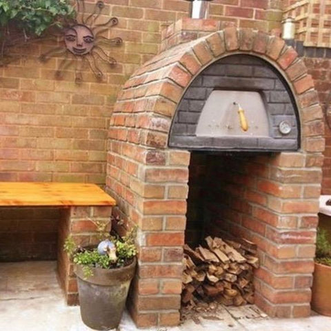 Image of Maximus Arena Wood-Fired Oven Built in with Brick