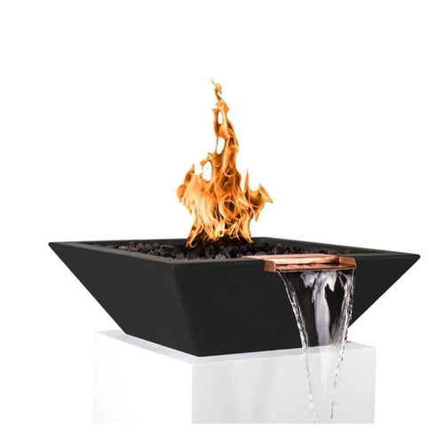 Maya Fire & Water Bowl - Black
