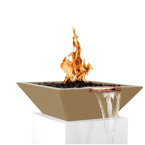Maya Fire & Water Bowl - Brown