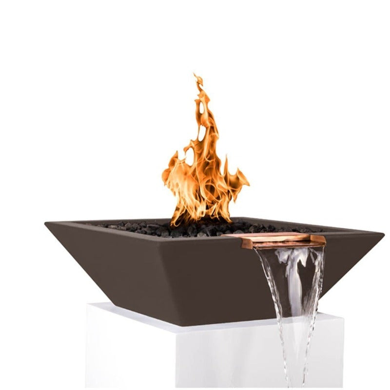 Maya Fire & Water Bowl - Chocolate