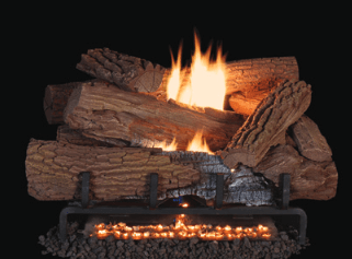 Image of Superior Mossy Oak Vent-Free Gas Logs