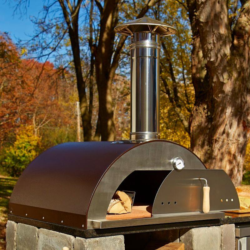 Outdoor Wood Fired Oven Necessories Nonno Peppe Pizza Oven