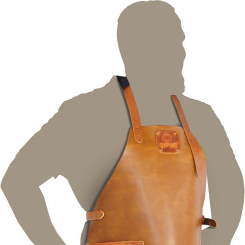 LEATHER APRON OFYR OA-LA