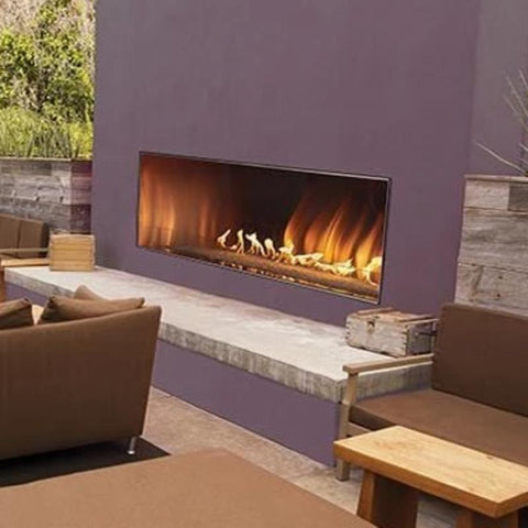 Empire Carol Rose Outdoor Linear Fireplaces 60""