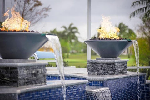 Image of Cazo Fire & Water Bowl