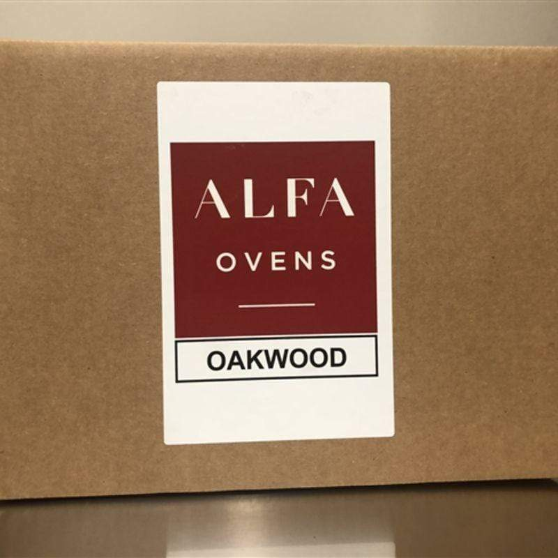 Box of Oak Wood for Cooking in Wood Burning Oven